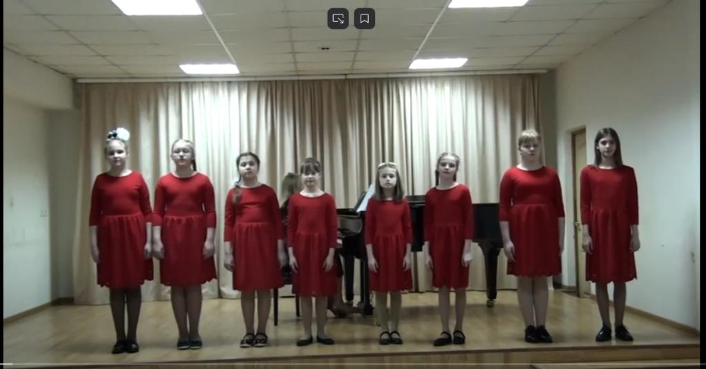 Vokalnyj ansambl Sem not DSHI 1 im. T.N. Nikolaevoj