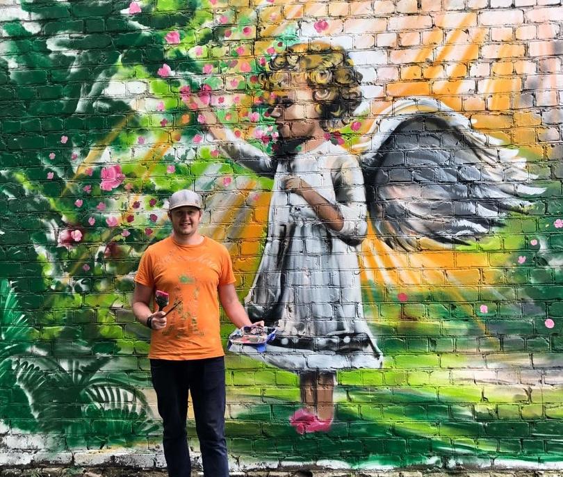 Graffiti Angel2