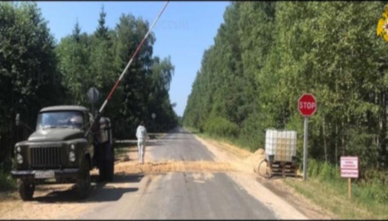 В Унечском районе Брянщины объявлен режим ЧС в двух поселках