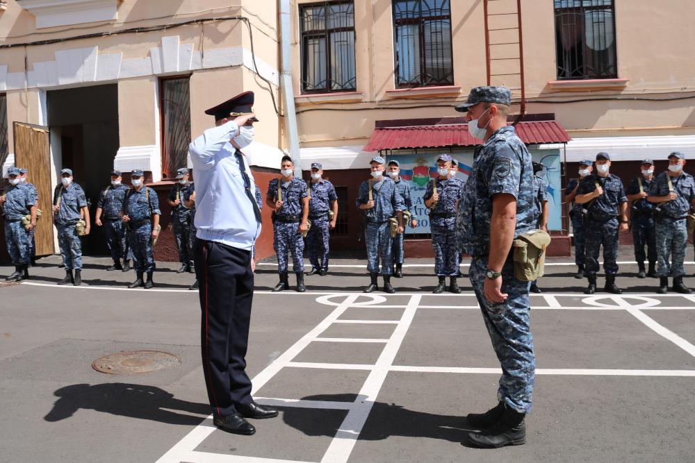 Politsiya komandirovka