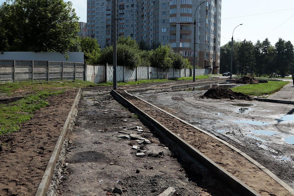 На проспекте Московском в Брянске продолжается реконструкция