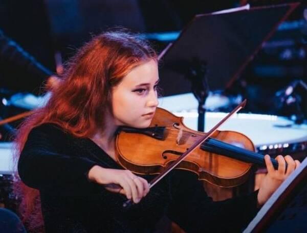 Брянская скрипачка сыграла под управлением Юрия Башмета