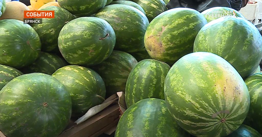 Жителям Брянской области рассказали о том, как правильно выбрать хороший арбуз