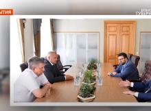 Брянский губернатор встретился с помощником полпреда президента в ЦФО Алексеем Мошковым