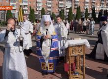 В Брянске освятили монумент в честь великого полководца Александра Невского