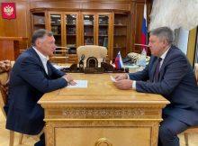 Глава Брянщины обсудил с вице-премьером Маратом Хуснуллиным инфраструктурные проекты