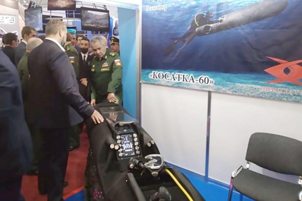 Брянские разработки заинтересовали министра обороны России Сергея Шойгу