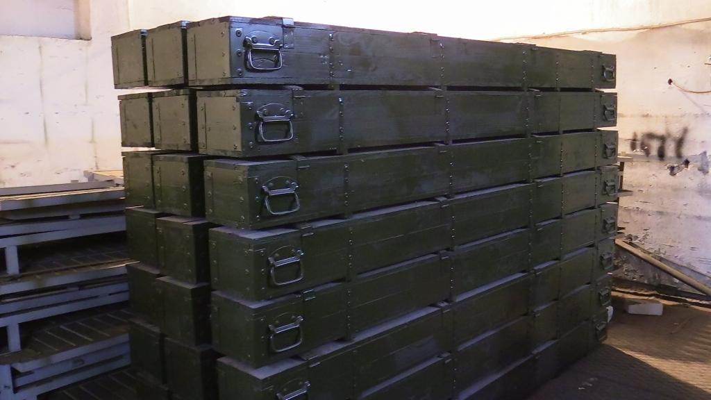 Минобороны заказало у брянских осужденных почти 10 тысяч ящиков для оружия