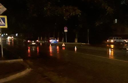 В Брянске водитель Daewoo Nexia сбил пьяного 37-летнего пешехода на зебре