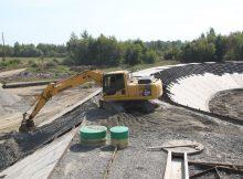 Завершается строительство первого этапа магистрали «Брянск-I - Брянск-II»