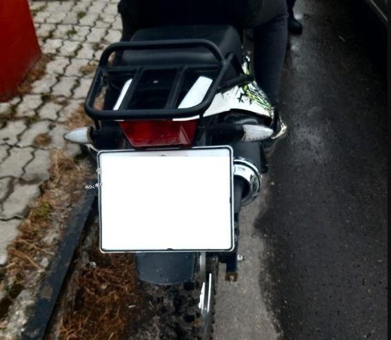 В Трубчевске задержали 14-летнего мотоциклиста без прав