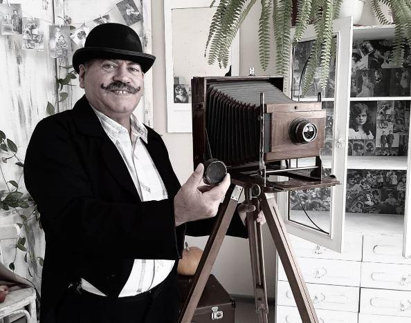 В брянском селе Скрябино состоялась выставка фотографа-любителя Артура Мухтарова
