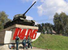 В Клинцах почтили память защищавших родину танкистов