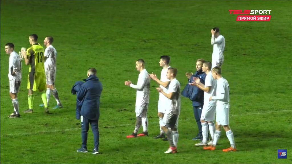 Со счетом 1:6 брянское «Динамо» проиграло тульскому «Арсеналу»
