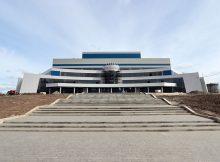 Азат Кадыров поразился масштабам брянского Дворца единоборств