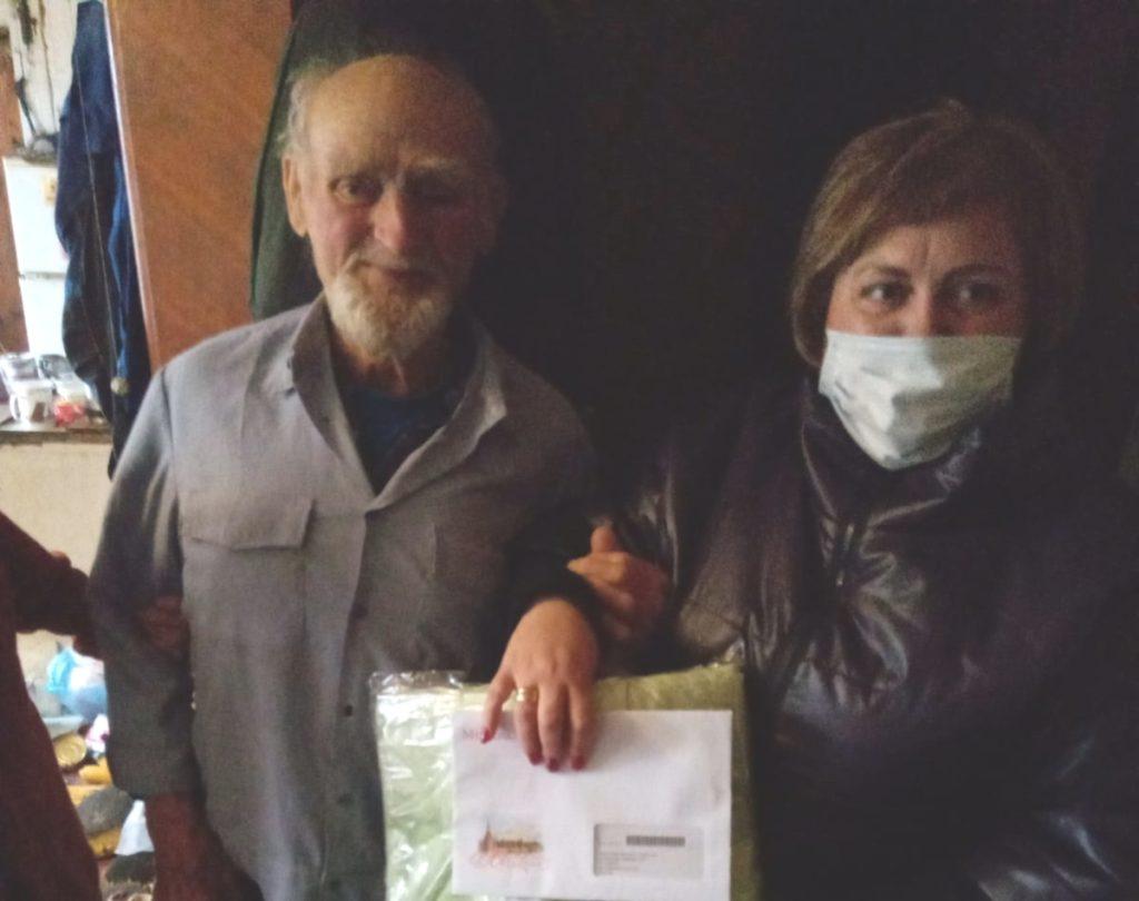 Житель брянского поселка Навля отметил 90-летний юбилей
