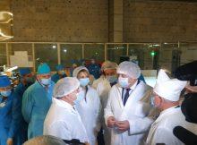 Александр Богомаз посетил брянский завод «Группы Кремний ЭЛ»