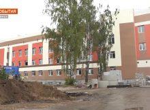 Строительство нового корпуса больницы №4 в Брянске вышло на финишную прямую