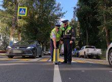 Брянская госавтоинспекция продолжает проверку качества дорожной разметки