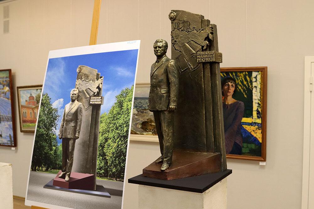 В Брянске выбрали эскиз памятника генпрокурору СССР Александру Рекункову
