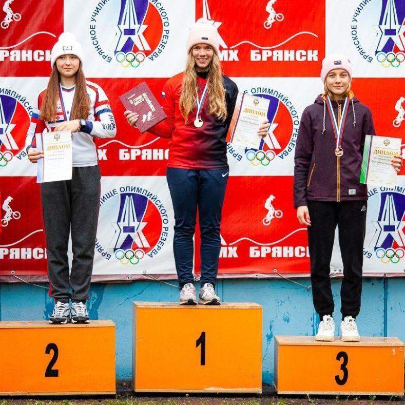 Брянские велосипедисты завоевали награды первенства России по BMX