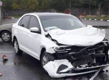 В Брянске в ДТП на Бурова ушибы получил 29-летний водитель