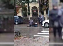 В Брянске на улице Куйбышева на пешеходном переходе сбили женщину