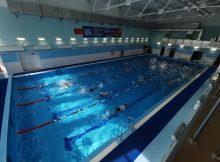 В спорткомплексе в Жуковке торжественно открыли бассейн