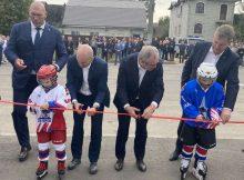 В Бежицком районе Брянска открыли ледовый дворец «Десна»