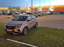 Очередного мастера парковки сфотографировали у «Аэропарка»