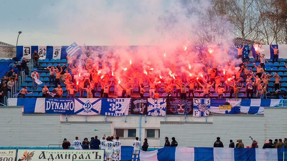 Брянских футбольных фанатов призвали не хулиганить на матче с курским «Авангардом»