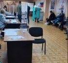 В Брянске проголосовали Дед Мороз и Снегурочка