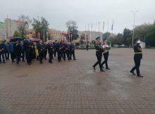 Руководители области почтили память героев на площади Воинской славы в Брянске