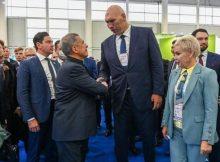 Николай Валуев рассказала в Казани об успешном развитии спорта в брянских селах