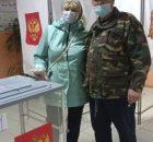 Жители Брянщины приходят голосовать семьями