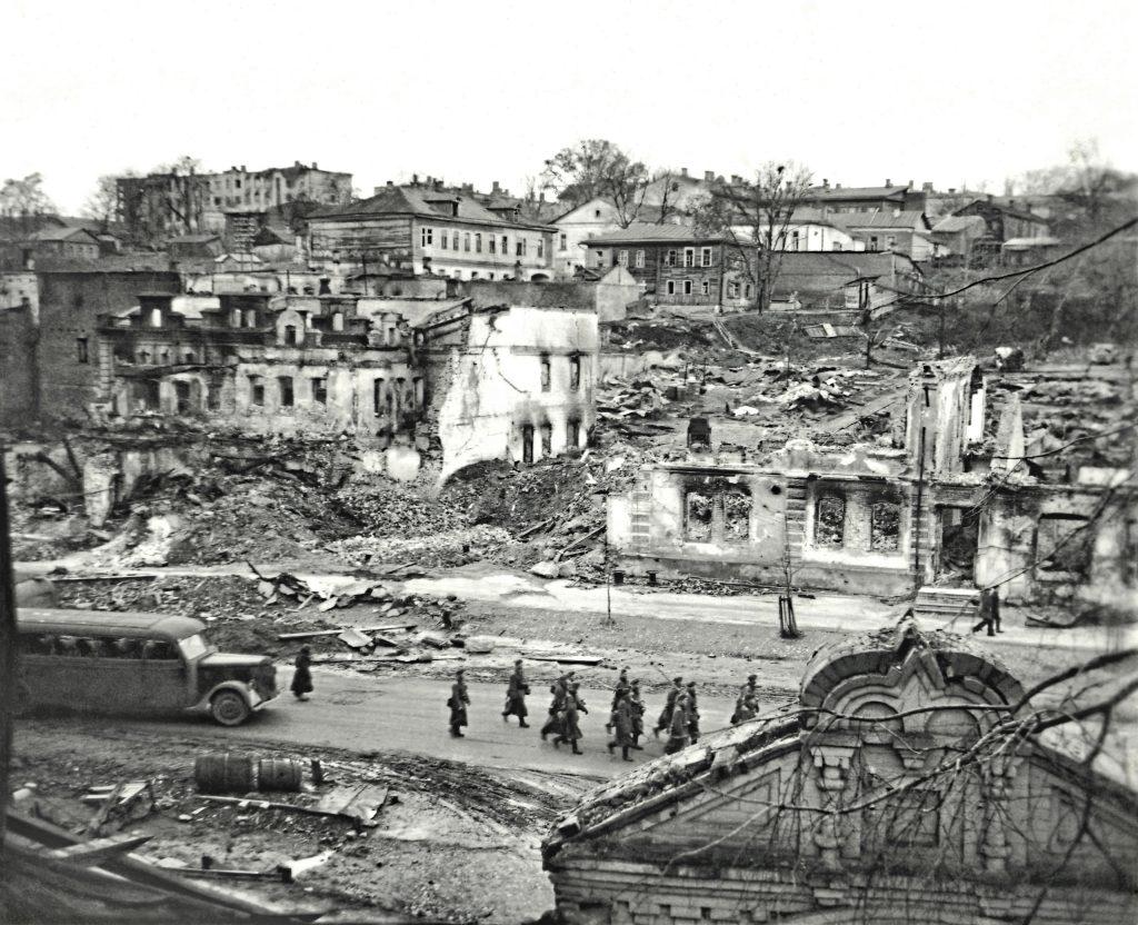 Уникальное фото набережной Брянска октября 1941 года опубликовали в соцсетях