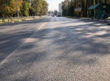 В Брянске отремонтировали часть дороги на улице Брянского фронта