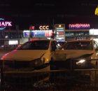 В ДТП с участием двух машин в Брянске пострадали люди