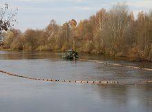 При расчистке русла Десны в Брянске подняли 170 тысяч кубометров отложений