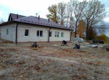 В брянском селе Сосновка Выгоничского района завершается строительство ФАПа