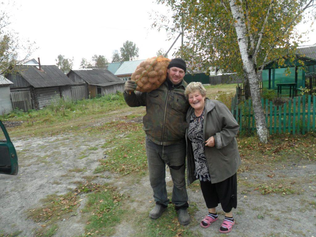 Нуждающимся брянцам собрали 32 тонны овощей