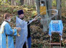 В Карачевском районе освятили источник в честь иконы Божией Матери «Неопалимая Купина»