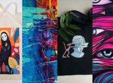 Брянцев пригласили на мастер-класс по росписи ткани