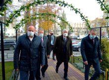 Посол России в Беларуси Лукьянов посетил «Брянсксельмаш»