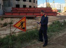 В Брянске на стройке ТРЦ «МегаГринн» насмерть разбился 35-летний монтажник