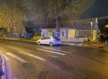 В Брянске на улице Урицкого водитель Chevrolet сбил на переходе пенсионерку